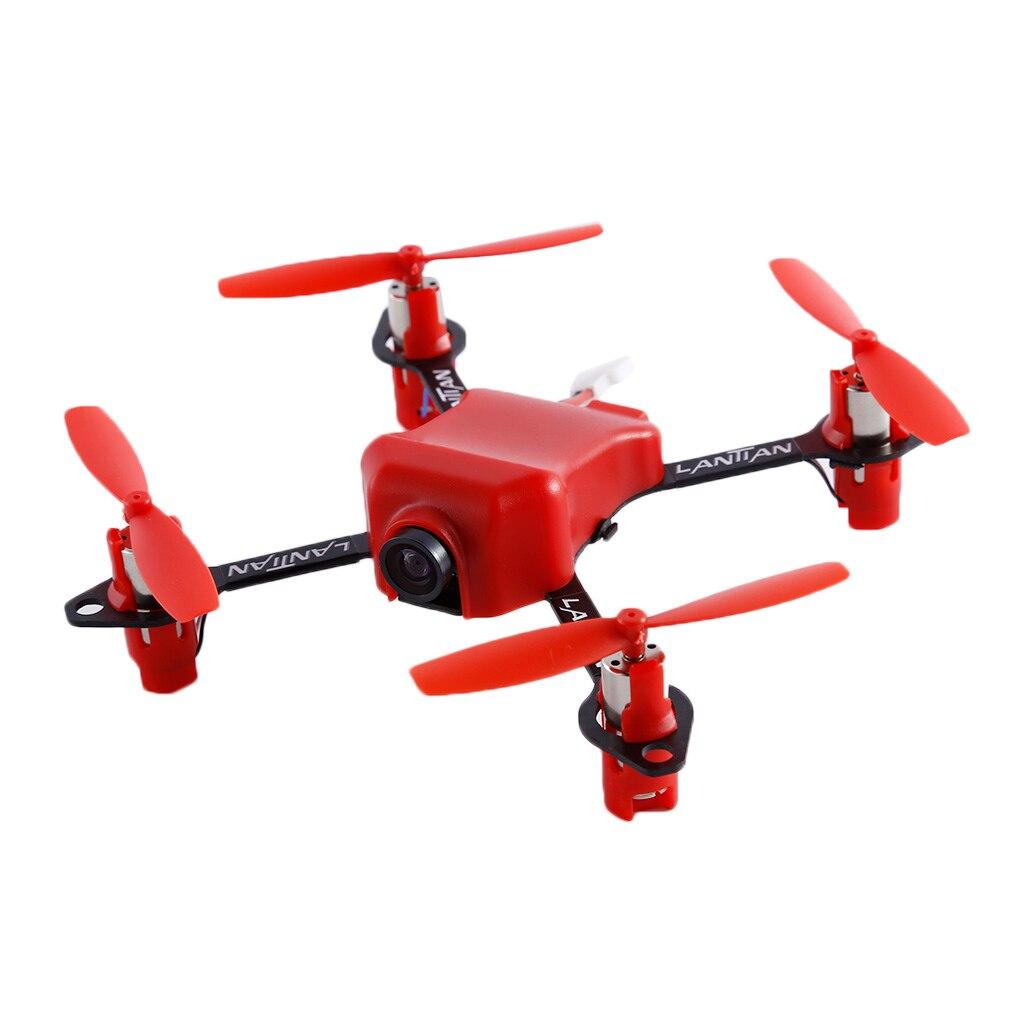 5.8G 32CH 25 mW Mini Drone quadrirotor de course FPV 1 S DSM2/récepteur FLYSKY/FRSKY