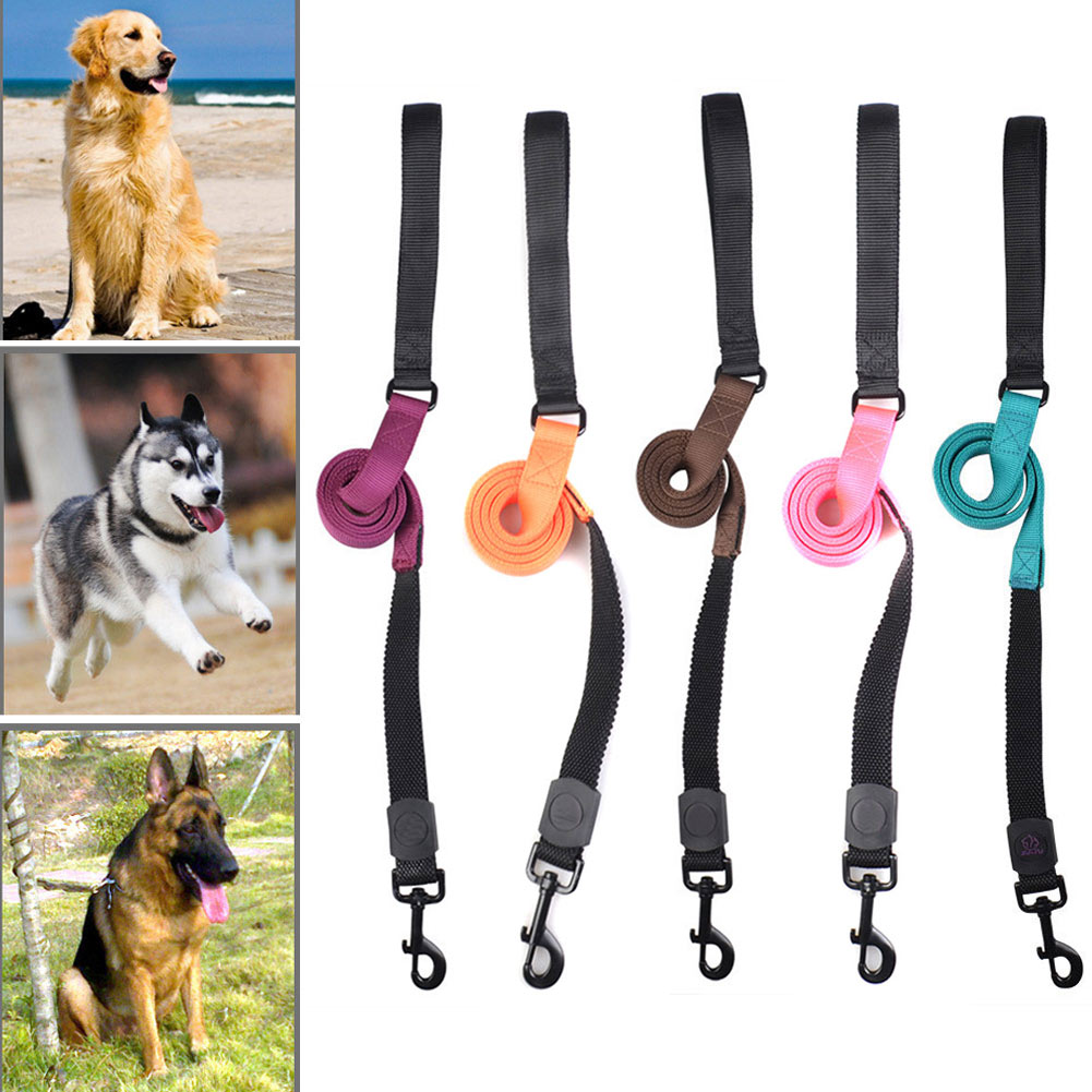 Мода Pet Товары для собак поводок Нейлон С Цвет выдвижной для домашних животных для Бег прогулки Пеший Туризм Бег 2017 lxy9