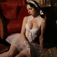Sexy Erotic Lingerie bride Babydoll Bride Wedding Dress For