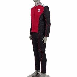 Image 2 - The Orville Security Department Alara Kitan Uniform Cosplay Costume 2017 Starfleet Red Lieutenant Halloween Duty Outfit