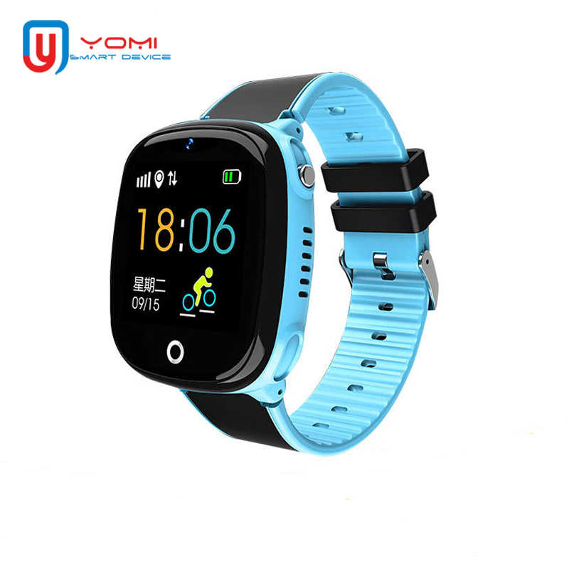Kids Smart Watch HW11 IP67 Waterproof Smartwatch Android GPS Tracking Security Fence SOS Call Smart Watch with Camera for Baby