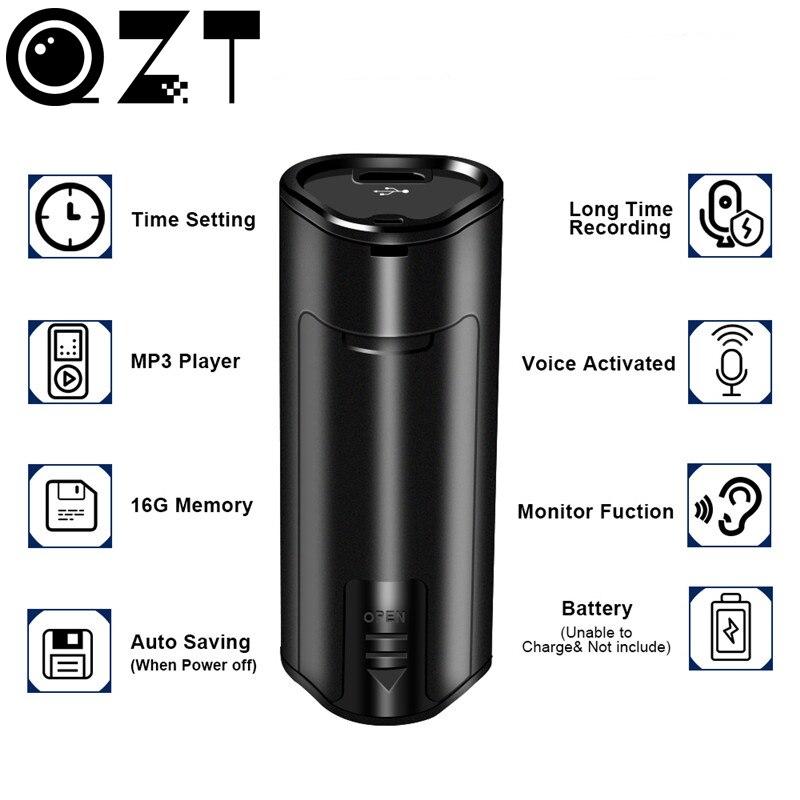 Mini 16GB Digital Voice Recorder rofessional USB Audio Recorder Pen Super Long Standby Time MP3 HD Sound Recording Dictaphone