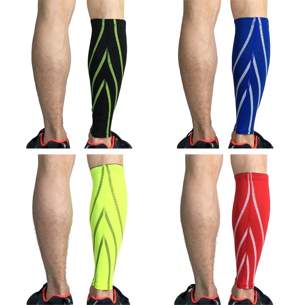 Sports Calf Leg Brace Compression Elastic Leg Sleeve Support Basketball Running SPSLF0043
