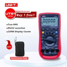 UNI-T UT61A UT61B UT61C UT61E Digital multimeter true RMS RS232 interface MULTIMETER Auto range with LCD backlight display