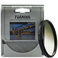 WTIANYA Bule Orange Grey Graduated Filter sets with filter pouch for Canon Nikon Sony Pentax 55mm Lens