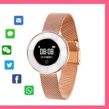 Smart Watch X6 Мода Smart Band хороший подарок для подруги шагомер IP68 Водонепроницаемый браслет артериального давления для женские