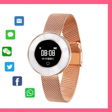 Smart Watch X6 fashion Smart Band good gift for girlfriend Pedometer IP68 Waterproof Bracelet Blood pressure for women ladies