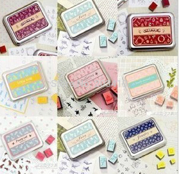 Mulit option lovely style vintage Antique Stamps seal stamper collection diary gift craft toy DIY tool whcn+
