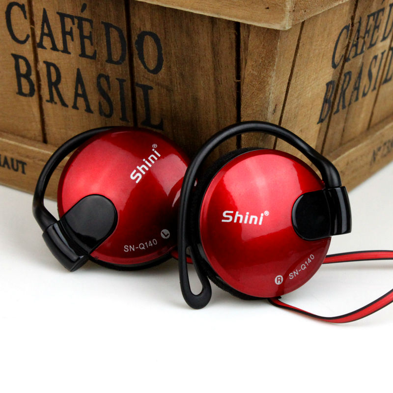Daono Q140  Stereo Headphones Ear-Hook Earphones Earbuds Super Bass Headset jogging Handsfree 3.5MM With MIC Free Shipping q каталог crazy earphones