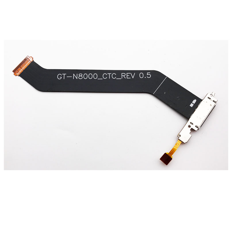 New Dock Charger Board For Samsung Galaxy Note 10.1 GT-N8000 N8010 USB Charging Port Flex Cable With Mic Microphone
