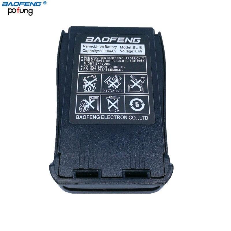 Baofeng UV-B5 UV-B6 BL-8 2000 mah Li-ion Batterie pour Baofeng UVB5 UVB6 Talkie-walkie Radio Bidirectionnelle UV B5 UV b6 Jambon Radio