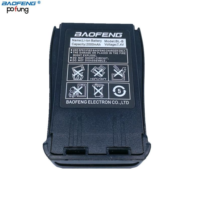 Baofeng UV-B5 UV-B6 BL-8 2000 mah Li-ion Batterie pour Baofeng UVB5 UVB6 Talkie Walkie à Deux Voies Radio UV B5 UV b6 Ham Radio