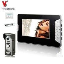YobangSecurity Home Security 7″ Inch Video Door Phone Doorbell Intercom system Night Vision Eye Camera Doorphone With Door Lock