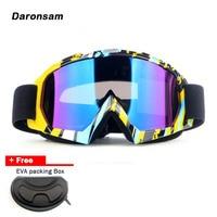 2017 New Outdoor Ski Goggles Double Layer Lens UV400 Anti Fog Windproof Snow Eyewear Adult Unisex