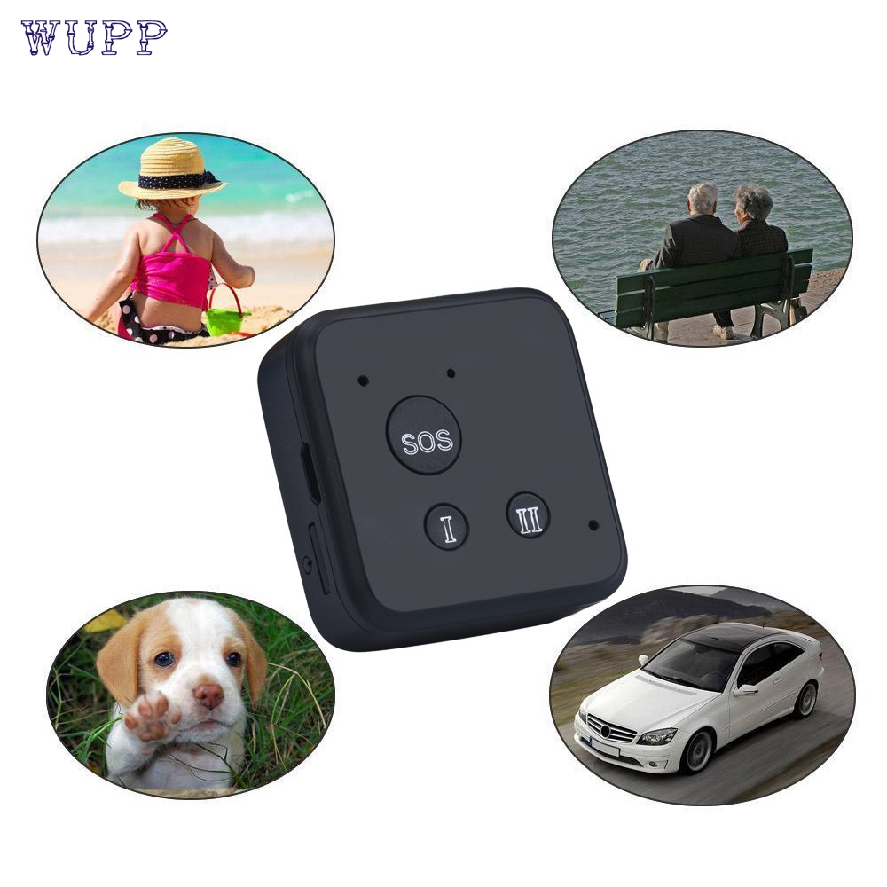 Dropship wupp Top Quality Mini GSM GPRS GPS Tracker Vehicle Car Pet Real time Tracking System
