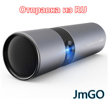 JmGO P2 3D DLP Smart Theater Projector portable pocket Support 1080P Hi-Fi Bluetooth Proyector Beamer Android WIFI