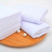 DelCaoFen 1 шт. чистый белый хлопковые полотенца для рук мойка кухни мульти Полезная полировочная ткань Набор для инструменты для уборки дома полотенце