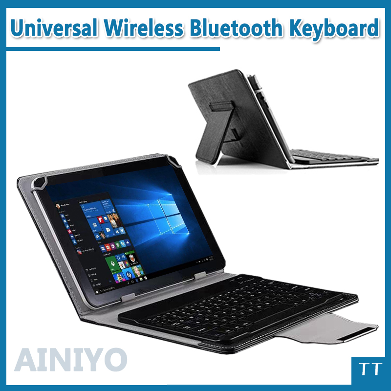 New Leather bluetooth keyboard case for voyo a1 mini 8inch tablet pc ,voyo a1 mini bluetooth keyboard case + touch pen universal 61 key bluetooth keyboard w pu leather case for 7 8 tablet pc black