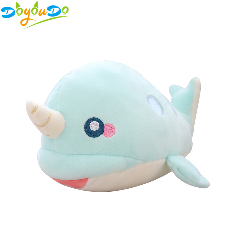 Cute Cretive Family Baby Shark Fox Toys Plush Soft Dolls Stuffed Toy Kids Gift