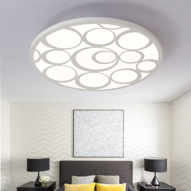 modern LED simple living room round creative atmosphere home bedroom ceiling lights LO832
