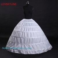 سريع الشحن الساخن بيع 6 قماش قطني تحتية أو ثوب نسائي لفستان الزفاف الزفاف زائد الحجم 65 سنتيمتر-110 سنتيمتر