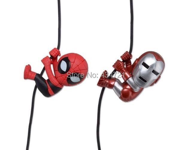Venda quente clássico super herói homem aranha homem de ferro 5 cm bonito exclusivo Scalers figura brinquedos