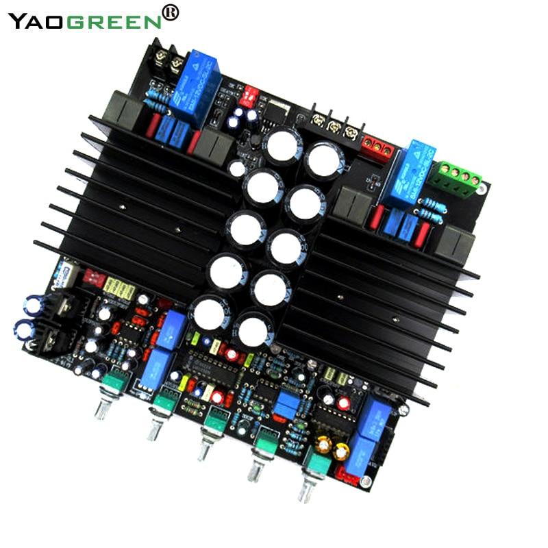 TDA8954TH 2.1 bluetooth HIFi Fever Digital Amplifier Board Class D 210W *2 Assembled Predecessor amp Audio LM1036+NE5532 C6-003 цены