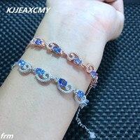 KJJEAXCMY Fijne sieraden natuursteen armband armband groothandel levering fabriek, 925 Sterling Zilveren Inlay