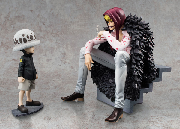 2pcs/lot Action figure One Piece Trafalgar Law Heart Corazon 12-16cm PVC Toys cartoon Dolls gift Collectible Model Anime B597 anime cartoon two years later one piece brook pvc action figure collectible model toy gift 18cm kt436