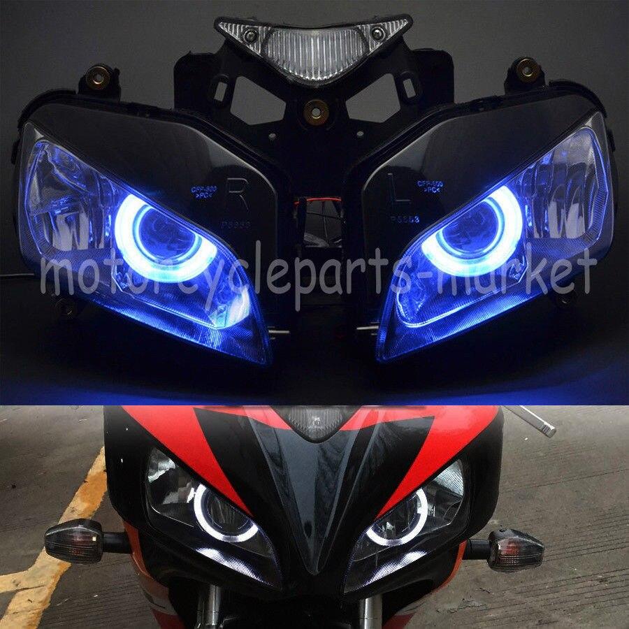 Blue Xenon Headlight Bulbs Hid Look Bright Better Vision Lamp Honda