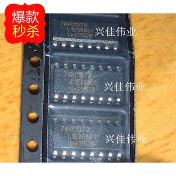 10 Uds. 74HC137 74HC137D SOP16 nuevo decodificador auténtico y demultiplexor original