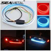 Car Rear Tail Box Lights Streamer Brake Turn Signal LED Lamp Strip Waterproof Universal Tail Decoration