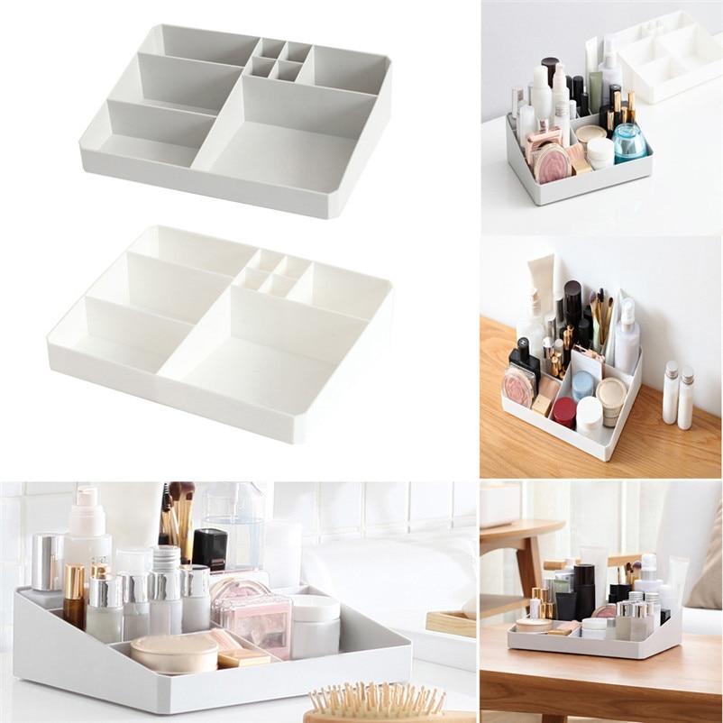 Caja de almacenamiento organizador acrílico maquillaje organizador ...