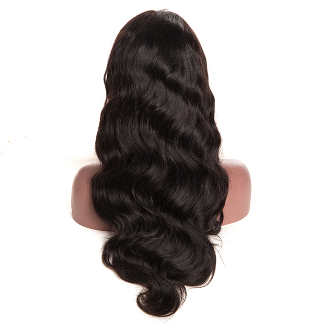 Long Body Wave Full Lace Remy Human Hair Wigs