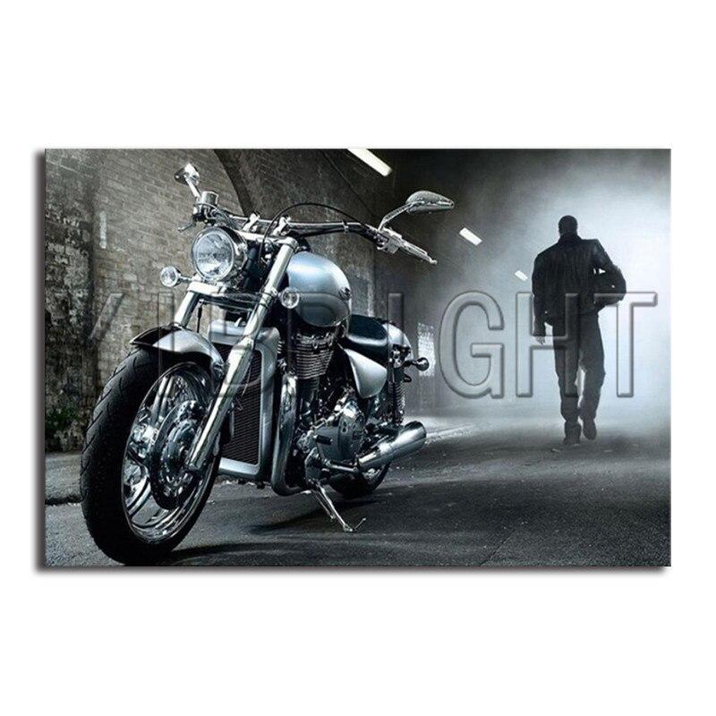 Полный квадратный алмаз вышивка мотоцикл человек DIY алмазов картина вышивки крестом живописные туннель 3D Алмазная мозаика узор YQ