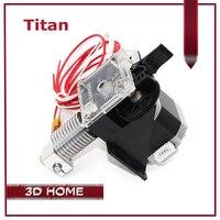 ZANYAPTR 3D Printer Titan Extruder Kits For Desktop FDM Reprap MK8 Kossel J Head Bowden Prusa