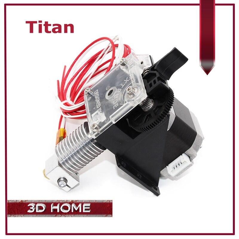 ZANYAPTR 3D Printer Titan Extruder Kits for Desktop FDM Reprap MK8 Kossel J-head bowden Prusa i3 Mounting Bracket new mootooh personal fdm 3d printer digital desktop printer prusa i3 3d printer for discount