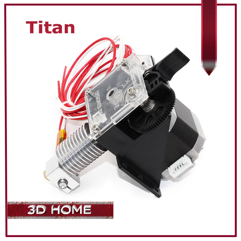 ZANYAPTR 3D Printer Titan Extruder Kits for Desktop FDM Reprap MK8 Kossel J-head bowden Pruse i3 Mounting Bracket 3d printer accessory reprap j head mkiv mkv hotend nozzle wade bowden extruder for choice top quality free shipping