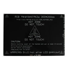 ANYCUBIC MK2A Тепло кровать 300x200x3.0 мм РАМПЫ 1.4 ПЕЧАТНОЙ ПЛАТЫ Алюминий Heatbed MK3 Для 3d-принтер, Freeshipping!!!