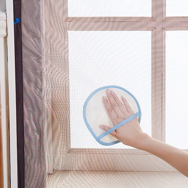 Merveilleux New Window Screen Door Curtain Dust Removing Gloves Cleaning Cloth Water  Absorbent Cloth Gauze Thickening Cleaning