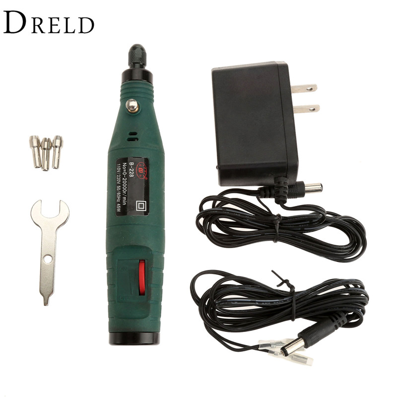 цена на 12V Electric Engraving Pen Rotary Grinding Polishing Grinder Pen Mini Engraving Machine Hand Drill Set