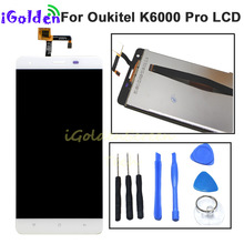 LCD Screen For Oukitel K6000 Pro LCD Display Touch Screen Di