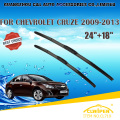 "Wiper Blades Para CHEVROLET CRUZE (2009-) 2010 2011 2012 2013 2014 2015 Car Windscreen Windshield Wiper Blade 24 ""+ 18"" carros estilo"