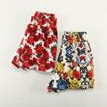 Nueva moda de verano las mujeres pantalones cortos de algodón pijama muchachas de flor de impresión pantalones de cintura elástica pantalones cortos caseros Envío Libre