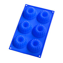 Silicone cake mold for microwave oven handmade silicone soap