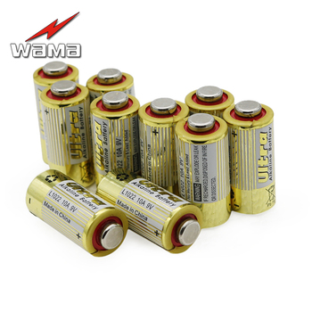 50 sztuk/partia WAMA 10A 9 V L1022 baterie do drzwi garażowych zdalnego dzwonek do Alarm zastąpić A23L 12 V bateria alkaliczna nowy