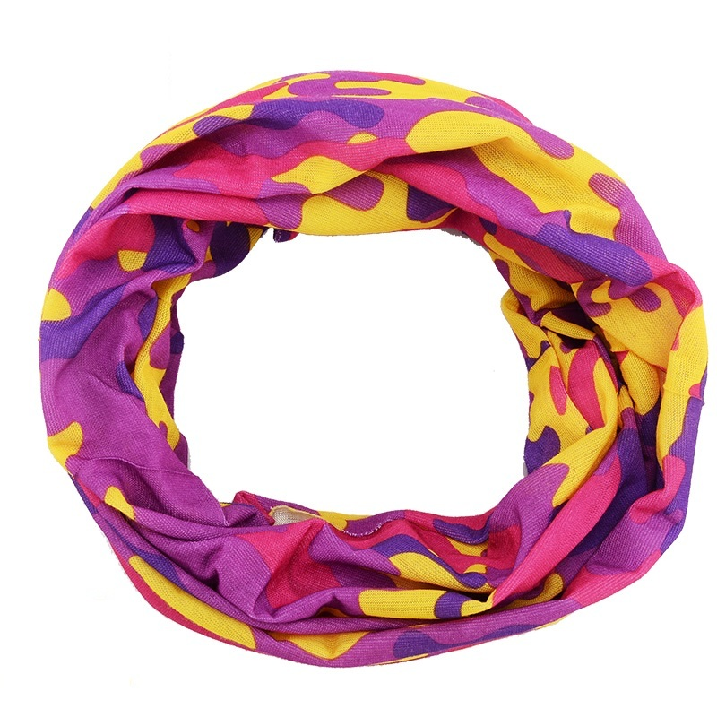 ZYMFOX Hiking Scarves Cycling Scarf Sport Headband Thin Seamless Headwear Breathable Quick Dry Outdoor Bicycle Biking Face Mask