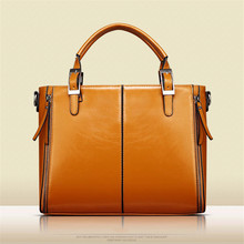 NIBESSER Vintage Women Handbags Wax & Oil Leather Classic Lady Shoulder Crossbody Bag For Women 2017 High Quality Casual Tote