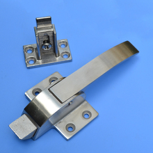 free shipping handle Freezer oven door hinge Cold storage lock adjusable latch hardware  pull part Industrial plant