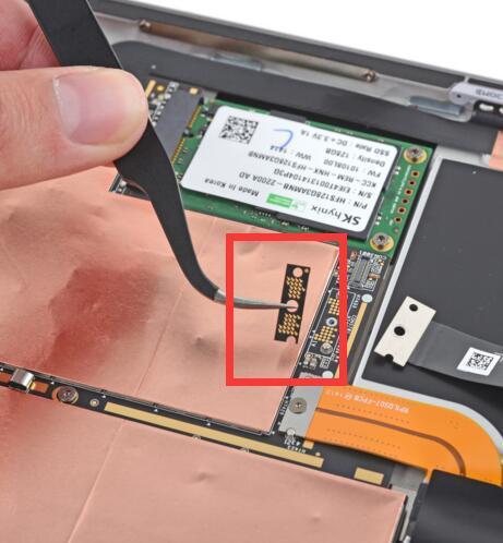 Puente conector Para Microsoft Surface Pro 3 (1631) entre la pantalla y la sustitución de la placa lógica conector